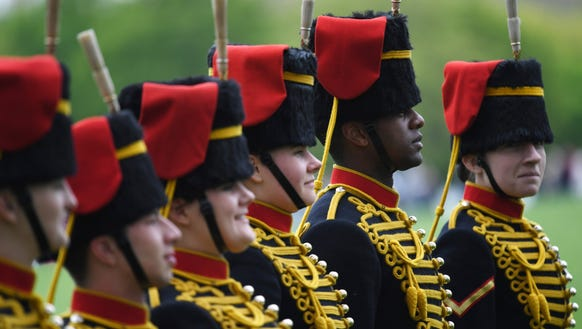 The King's Troop Royal Horse Artillery and the Honourable