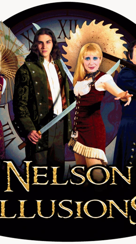 Nelson Illusions will perform at the Visalia Fox in