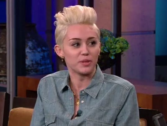 Miley Tonight Show