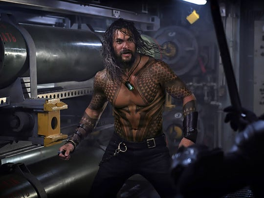 """Aquaman"" marks the first solo film for Jason Momoa's"
