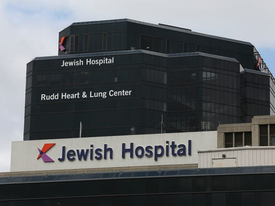 The Jewish Hospital campus downtown at Chestnut Street