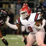 Oakland's Ty Nix (9) is one of 22 commitments for MTSU's football team as signing day nears.