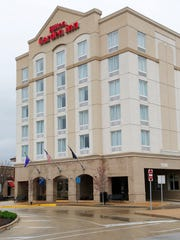 The Hilton Garden Inn on Wabash Landing has been in