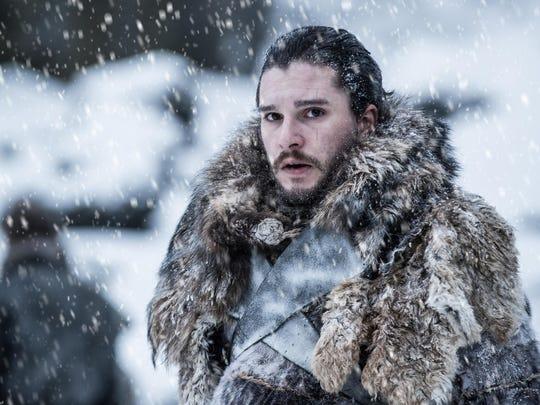 "Kit Harrington as Jon Snow in ""Game of Thrones."""