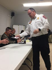 Riceville Fire Chief Thad Lewis submitted a letter