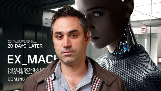 """Alex Garland wrote """"Sunshine"""" and """"28 Days Later ...""""  """"Ex Machina"""" is his first time directing."""