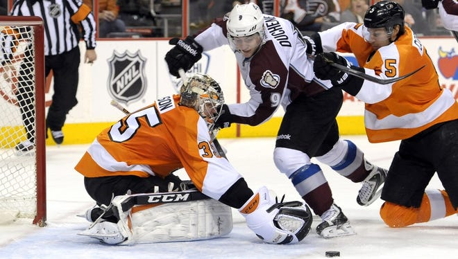 Matt Duchene and the Avalanche come to ton for their only visit of the season.