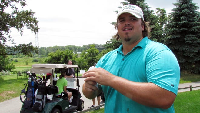 Former Green Bay Packers offensive tackle Mark Tauscher.