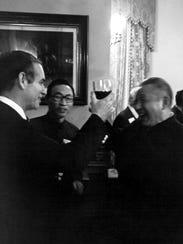 Current Chinese President Xi Jinping's father, Xi Zhongxun,