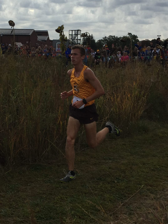 Buckeye Valley cross country Zach Kreft