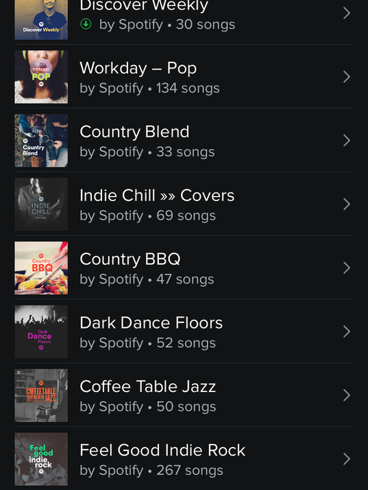 Spotify makes monday playlists for you for Classic house playlist