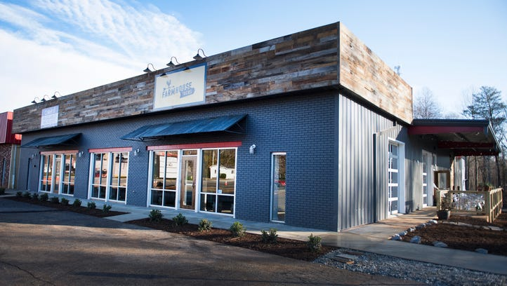 Farmhouse Tacos opens on Main Street in Travelers Rest on Thursday, January 12, 2017.