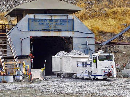 Stillwater Mine, Stillwater Mining Co.
