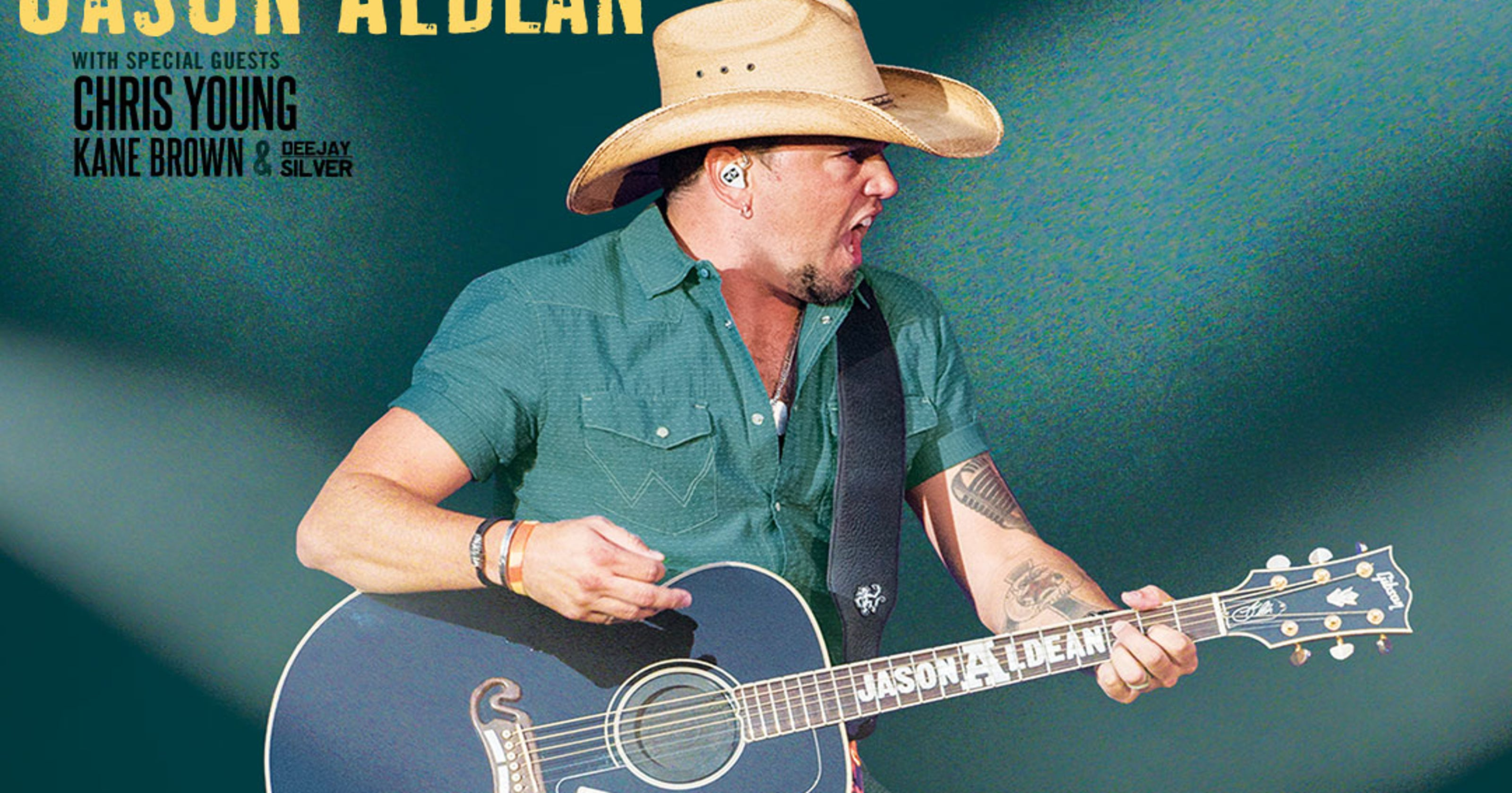 Jason Aldean Chris Young And Kane Brown Tour