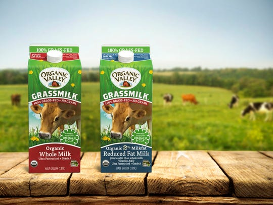 Organic Valley's fast-growing Grassmilk line features