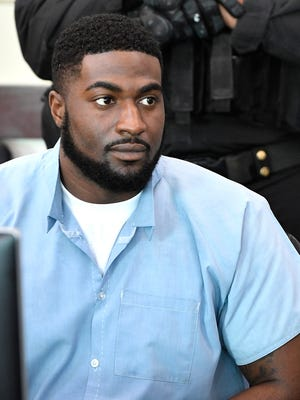 Cory Batey, 23, and his defense lawyer, Peter Strianse of Nashville appear before Nashville Judge Monte Watkins on Tuesday, April 11, 2017. Strianse asked for more time to file a motion for new trial in Batey's case, and the request was granted.Tuesday April 11, 2017, in Nashville, TN