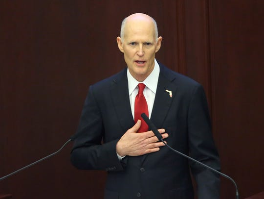 Florida Gov. Rick Scott has joined other governors in asking Congress to move faster on approving disaster aid.