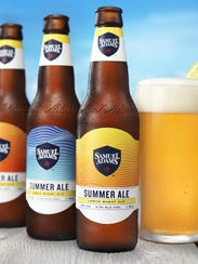 Samuel Adams' Summer Ale is perfect for poolside drinking.