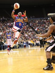 The Harlem Globetrotters come to Blue Cross Arena at the War Memorial Saturday, Feb. 10.