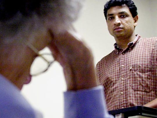 Dr. Nilesh Jobalia in a 2001 Enquirer file photo.