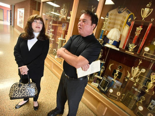 In 1966, after placing first for three consecutive years in the Olmsted Air Force Base High School Band Contest, twins John Signeri, the drum major, and Mary Segneri-Graybill, head majorette, were part of the Northern Lebanon High School Marching Band that brought home the trophy that celebrates its place in Northern Lebanon for 50 years.