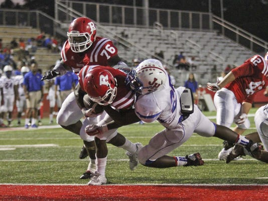 Ruston High vs. Jonesboro Hodge High Football