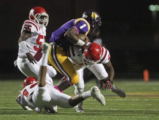 Ruston High vs. Wossman High Football