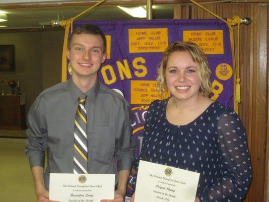 Brandon Long and Megan Sharp for media