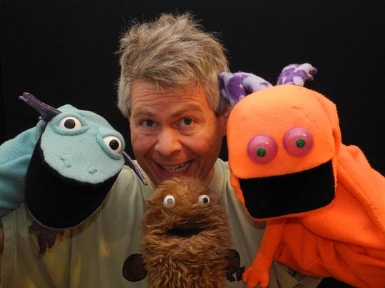 Wump Mucket Puppets perform Saturday at the Clifton Branch Library.