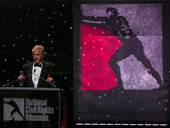 October 19, 2017 - Freedom Award honoree Morris Dees,