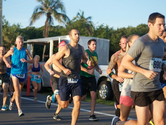 The Run 4 The Sea benefit race along Highway A1A in
