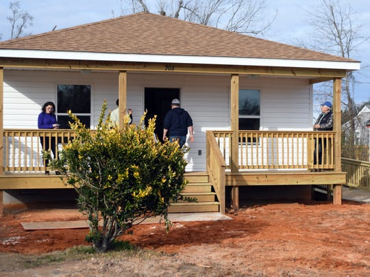 Recover, Rebuild, Restore South Mississippi held a home dedication Friday for Pauline Curry who lost her home to the Jan. 21, 2017, tornado.
