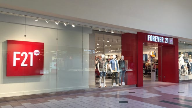 F21 RED, a new concept store that's part of retailer Forever 21, opens at the Mall at Greece Ridge.