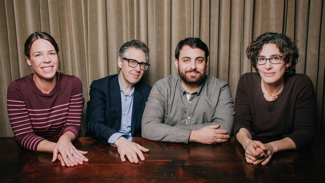 The S-Town team consists of Serial co-creator and S-Town executive producer Julie Snyder, This American Life creator and host Ira Glass, S-Town host Brian Reed and Serial host Sarah Koenig.