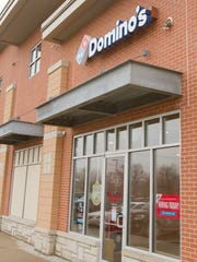 The Domino's restaurant at the corner of Latson Road