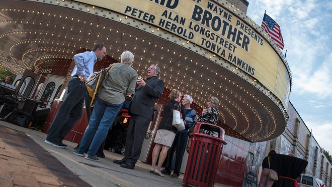 Kid Brother premiers at the State Wayne Theater.