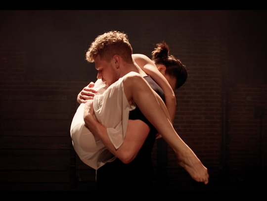 Dancers Eric Lehn and Elle May Patterson, are featured
