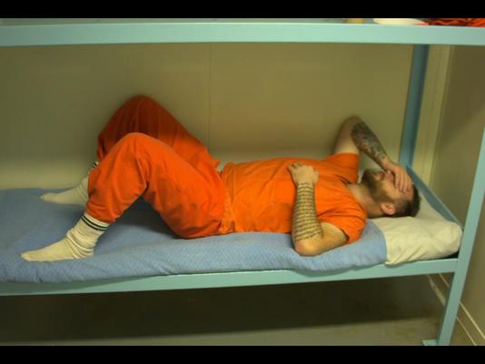 Filmmaker volunteers for solitary confinement