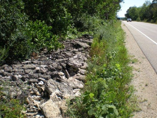 The original plan for the State 57 resurfacing project included the removal of some of the stone fences they were in the highway right-of-way. The DOT changed the plan to allow all stone fences to remain. The fences will not be removed, according to the state Department of Transportation.