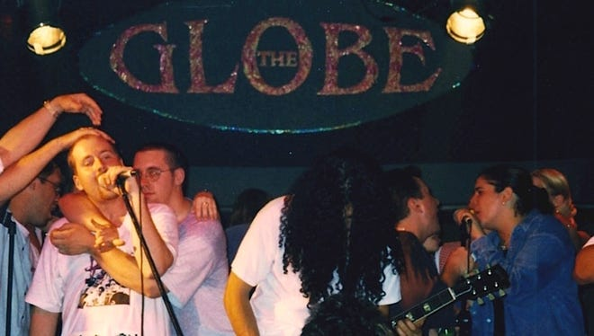 Big Mother Gig, shown playing its final show in 1996 at the Globe, is releasing its catalog online Tuesday, and recording new music.