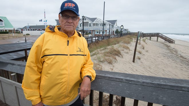 Bethany Beach Mayor Jack Gordon along with the mayors of South Bethany and Fenwick Island sent a letter to Sen. Tom Carper, DNREC officials and U.S. Army Corps of Engineers officials saying they are grateful for the forthcoming beach replenishment on their beaches but are concerned that with the work beginning after the first of the year and scheduled to take 240 days, dune grass planting may be delayed an entire year and not completed until April 2019.
