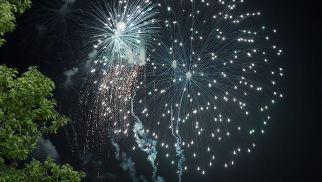 The state fire marshal's office investigated five fireworks incidents July 4.
