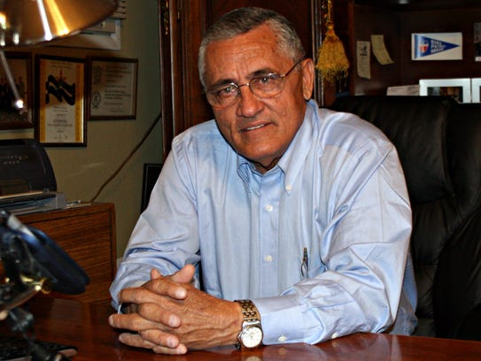Alberto Gutier is director of the Governor's Office
