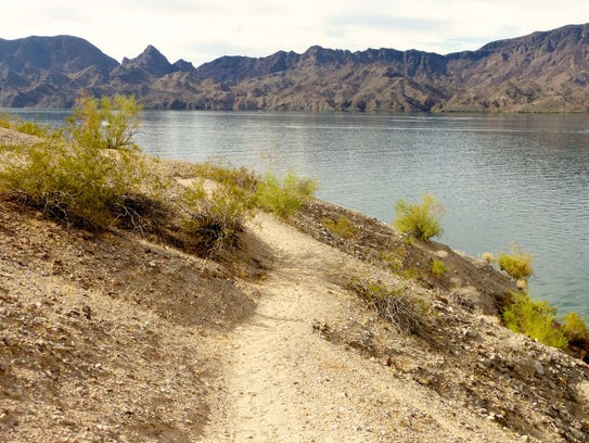Cattail Cove offers the most hiking options with a