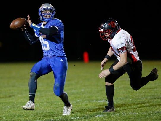 Winnebago Lutheran Academy football hosts Valders High