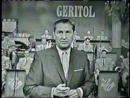 Lawrence Welk and his band were sponsored by Geritol.