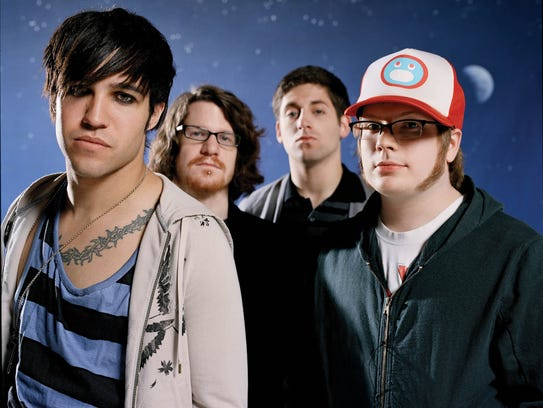 "Fall Out Boy issued its ""Infinity On High"" album in"