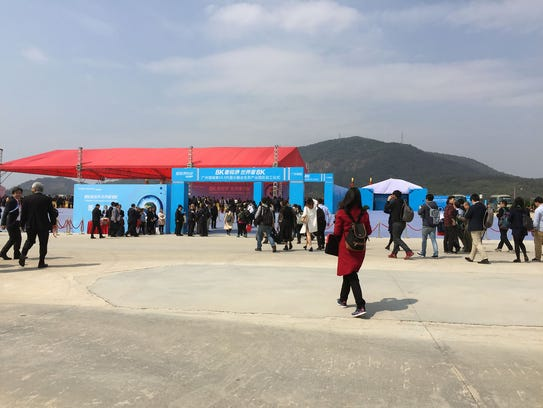 A groundbreaking ceremony was held March 1 in the southern