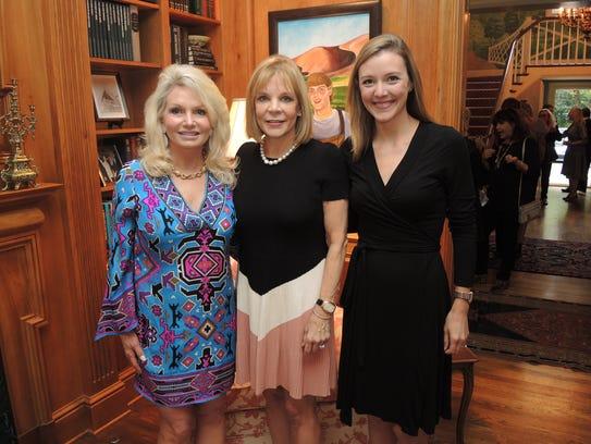 Janet Bentz, left, Jana Davis and Lyndsey Rollins at