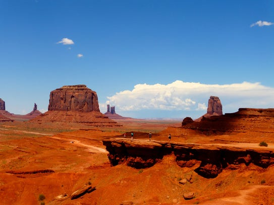 John Ford Point was a favorite shooting location for